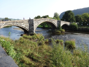 Llanrwst old stone bridge