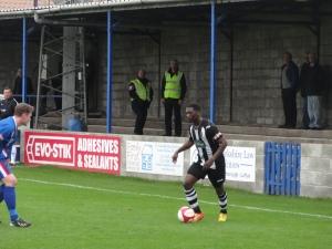 Goalscorer Darren Stephenson
