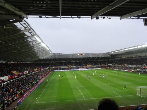The Liberty Stadium, Swansea 2/3/14.